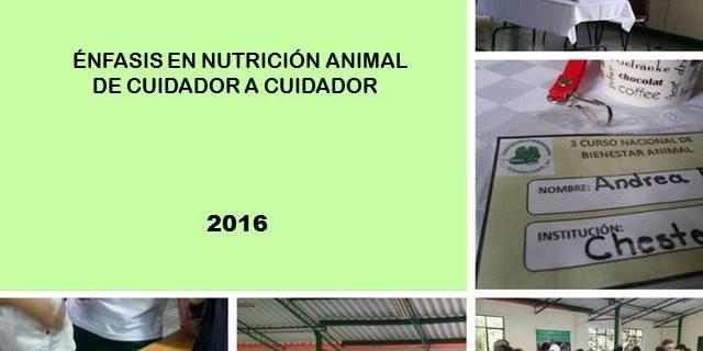 Tercer curso nacional de bienestar animal (Día 1)
